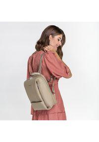 Beżowy plecak Wittchen elegancki