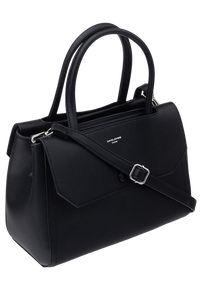 Czarna torebka DAVID JONES klasyczna