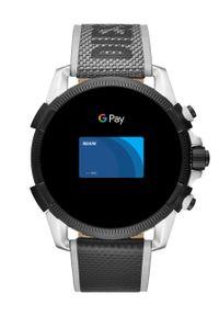 Srebrny zegarek Diesel smartwatch