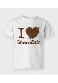 MegaKoszulki - Koszulka dziecięca I love chocolate 2. Materiał: bawełna