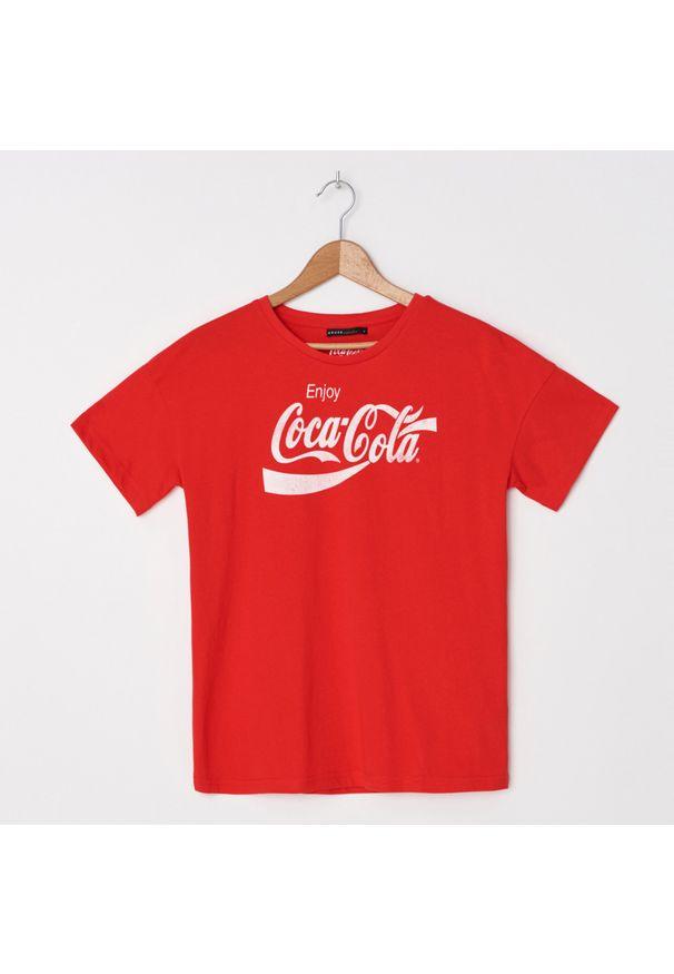 Czerwony t-shirt House
