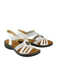 Białe sandały Artiker Relaks