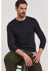 Niebieski sweter Selected casualowy, na co dzień