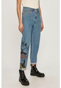 Niebieskie jeansy Levi's® z motywem z bajki, z podwyższonym stanem, biznesowe
