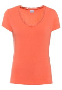 Pomarańczowa bluzka bonprix