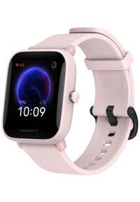 AMAZFIT - Amazfit Bip U Pro, Pink. Rodzaj zegarka: smartwatch. Kolor: różowy. Styl: sportowy