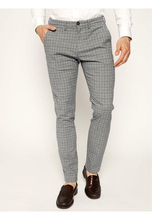 Baldessarini Spodnie materiałowe Jorck 16836/000/2297 Szary Slim Fit. Kolor: szary. Materiał: elastan, bawełna, materiał