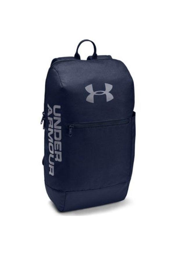 Niebieski plecak Under Armour casualowy