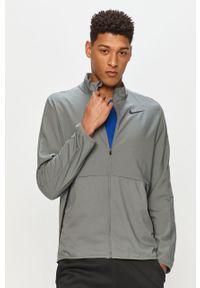 Zielona kurtka Nike casualowa, bez kaptura, na co dzień