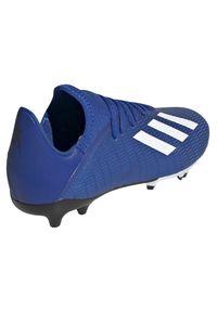 Adidas - Buty piłkarskie korki adidas X 19.3 FG EF7152. Zapięcie: sznurówki. Materiał: materiał, syntetyk. Szerokość cholewki: normalna. Sport: piłka nożna