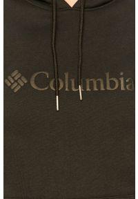 Czarna bluza columbia na co dzień, z kapturem