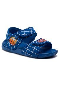 Niebieskie sandały Adidas