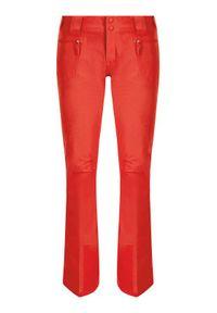 Pomarańczowe spodnie sportowe The North Face narciarskie