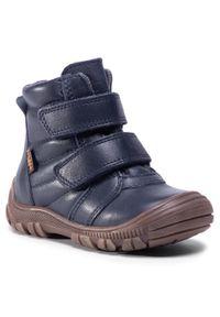 Niebieskie buty zimowe Froddo
