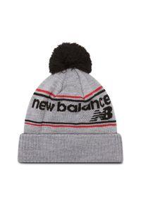 Szara czapka zimowa New Balance