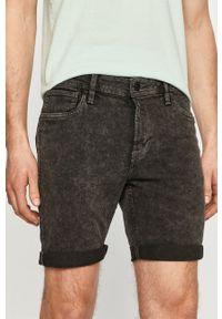PRODUKT by Jack & Jones - Produkt by Jack & Jones - Szorty jeansowe. Okazja: na co dzień. Kolor: szary. Materiał: jeans. Styl: casual