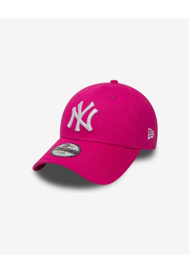 Różowa czapka New Era w kolorowe wzory