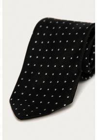 Polo Ralph Lauren - Krawat. Kolor: czarny. Materiał: materiał