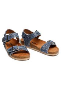 Niebieskie sandały Refresh casualowe, na co dzień
