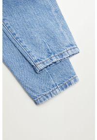 Niebieskie jeansy Mango Kids na co dzień, casualowe
