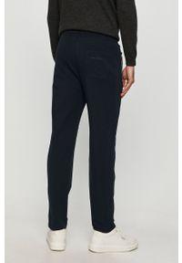 Niebieskie spodnie dresowe Karl Lagerfeld z nadrukiem