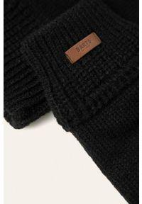 Czarne rękawiczki Barts