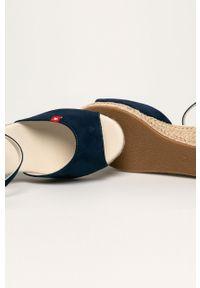 Niebieskie sandały Big-Star na klamry