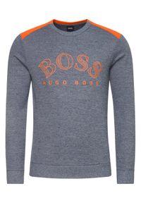BOSS - Boss Bluza Salbo 50418718 Szary Regular Fit. Kolor: szary
