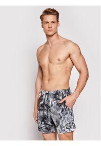 Puma Szorty kąpielowe Reflection All-Over-Print 935060 Szary Regular Fit. Kolor: szary. Wzór: nadruk