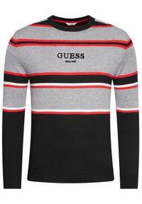 Sweter klasyczny Guess w kolorowe wzory