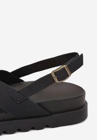 Renee - Czarne Sandały Athilymes. Kolor: czarny