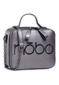 Szara torebka klasyczna Nobo