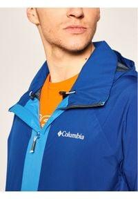 columbia - Columbia Kurtka przeciwdeszczowa Evolution Valley RI0025 Niebieski Regular Fit. Kolor: niebieski