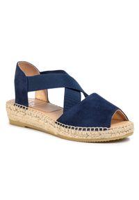 Niebieskie sandały Kanna casualowe, na co dzień