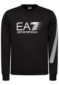 EA7 Emporio Armani Bluza 3KPM67 PJ05Z 1200 Czarny Regular Fit. Kolor: czarny