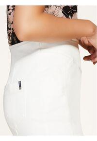 Biała spódnica jeansowa Persona by Marina Rinaldi