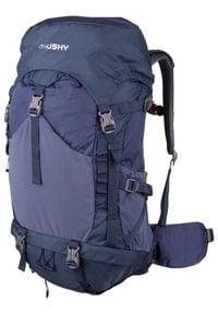 Husky plecak Spok 33L niebieski. Kolor: niebieski. Materiał: materiał