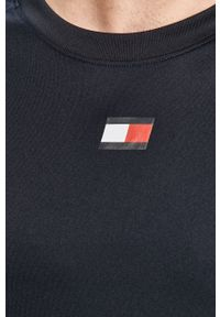 Niebieski t-shirt Tommy Sport sportowy, z aplikacjami #5