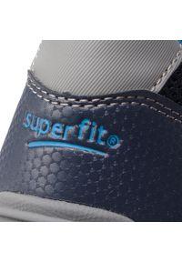 Niebieskie półbuty Superfit z cholewką, na rzepy #7
