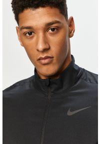 Czarna kurtka Nike casualowa, na co dzień, bez kaptura