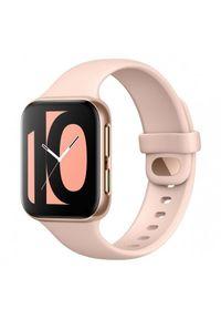 Różowy zegarek OPPO smartwatch