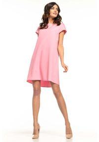 Różowa sukienka wizytowa Tessita wizytowa