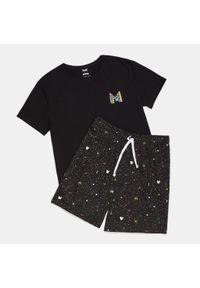 Czarna piżama Sinsay z motywem z bajki
