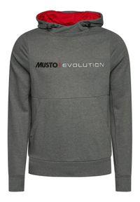 Musto Bluza Evo Logo 82043 Szary Regular Fit. Kolor: szary #5