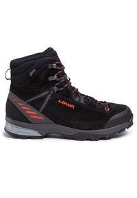 Czarne buty trekkingowe Lowa trekkingowe, z cholewką #7