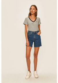 Levi's® - Levi's - Szorty jeansowe 501. Okazja: na co dzień, na spotkanie biznesowe. Kolor: niebieski. Materiał: jeans. Styl: biznesowy, casual