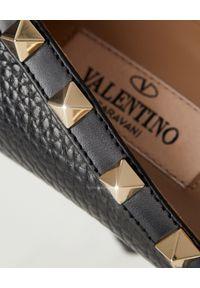 Czarne szpilki VALENTINO klasyczne, gładkie