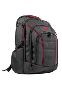 Genesis - Plecak na laptopa GENESIS NBG-0986 Pallad 500 15.6-17.3 cali Czarny. Kolor: czarny. Materiał: materiał. Styl: biznesowy
