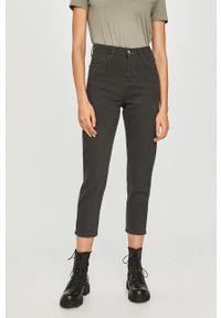 Czarne spodnie materiałowe Answear Lab wakacyjne, na co dzień