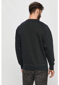 Czarna bluza nierozpinana Pepe Jeans z okrągłym kołnierzem, na co dzień